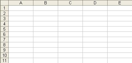wer ein tabellenkalkulationsprogramm aufruft hier zb ForTabelle Mit 9 Spalten