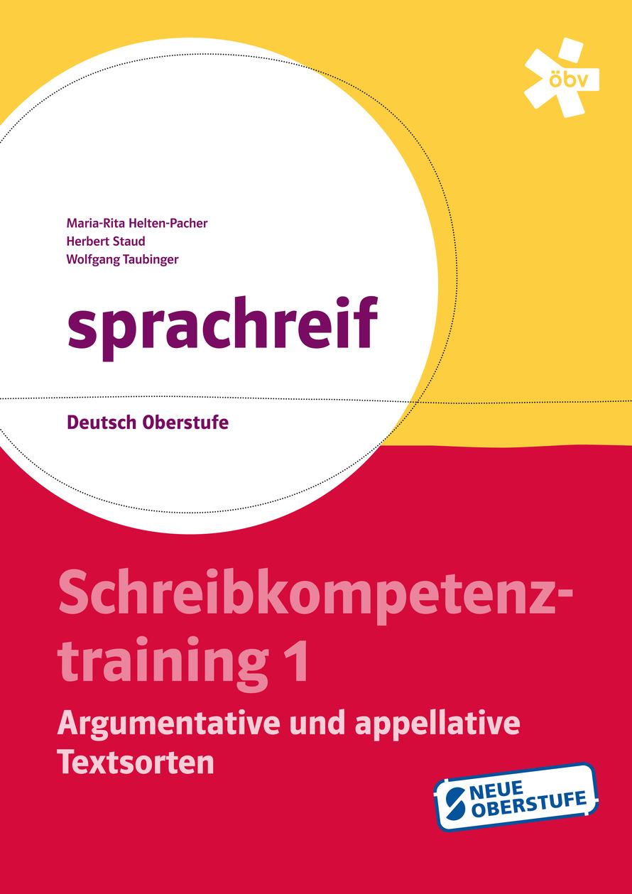 Sprachreif Schreibkompetenztraining Argumentative Und Appellative