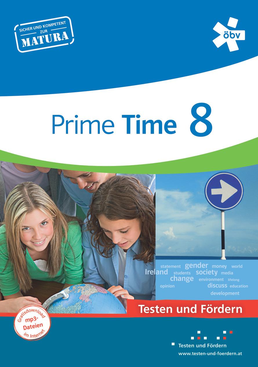 Prime Time 8, Testen und Fördern Arbeitsheft | öbv ...